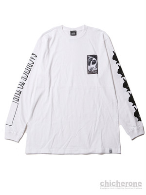 【SILLENT FROM ME】SACRIFICE -Long Sleeve-WHT