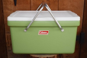 USED Coleman Cooler made in USA G0464