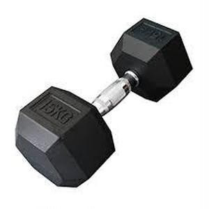 ヘックスラバーダンベル 12.5kg ,15kg,17.5kg,20kg 計 130㎏