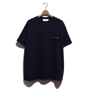 1 Pocket SS Loose Tee -navy <LSD-AI1T6>