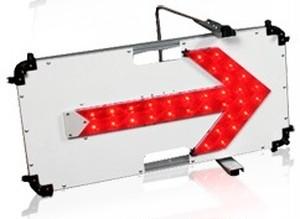 矢印板 フラッシュアローⅡ(赤)