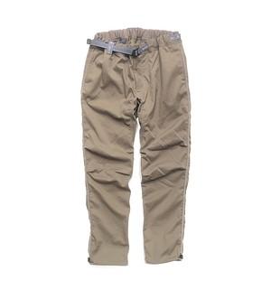 【and wander】polyester climbing pants