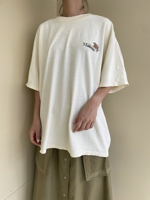 logo embroidery tee / 7SSTP21-10