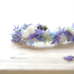 うす紫色がキレイな  夏色花冠