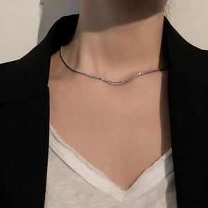 【送料無料】シンプル シルバー ネックレスs925  gd72