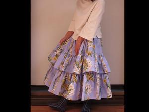 ハワイアンのロングスカート
