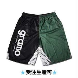プラクティスパンツ「SHIBA!-pants」(ブラック×グリーン/HP-017)☆受注生産可☆
