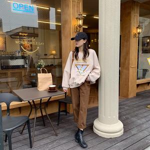〈カフェシリーズ〉うさぎさんとコーヒーのビッグシルエットセーター