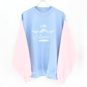 dolphin embroidered sweat