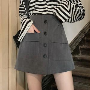【ボトムス】清新シンプルファッションカジュアルスウィートストリート系スカート23452708