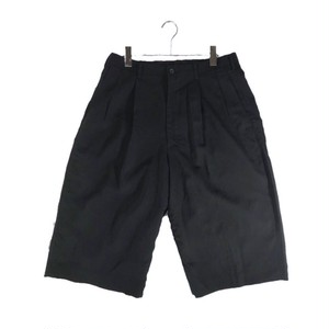 Y'S  FOR MEN CROPPED WIDE TROUSERS