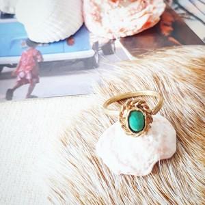 brass ring-tibetanturquoise- 11号
