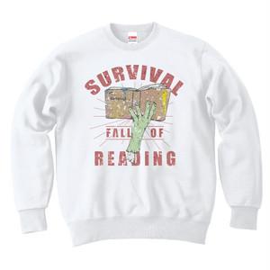 [カジュアルスウェット] Fall of reading / White