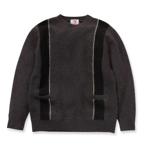 【SON OF THE CHEESE】Skins knit(GRAY)