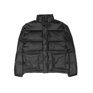 【HELLRAZOR】FAUX LEATHER DOWN JACKET