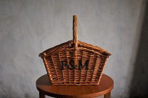イギリス フォートナム&メイソン ピクニックバスケット ミニ