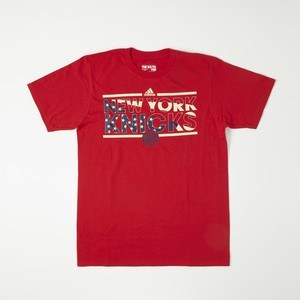 NEW YORK KNICKS USA FLAG T-SHIRT  ADIDAS