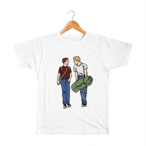 Gordie & Chris キッズTシャツ