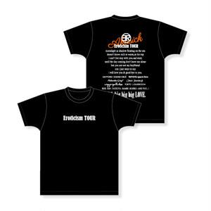 Eroticism TOUR ツアーTシャツ(ブラック)