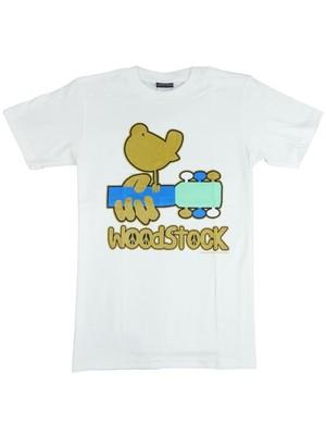 ROCK T-SHIRT 【Woodstock ウッドストック  】ゴールドバード & ギター