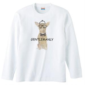 [ロングスリーブTシャツ] gentlemanly