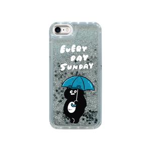 【web限定/送料無料】雨とまーくん iphoneグリッターケース