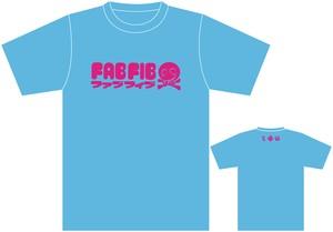 ファブフィブTシャツ(ライトブルー)