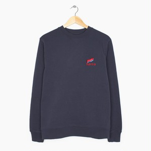 by Parra - flapping flag crew neck sweater (Navy Blue)