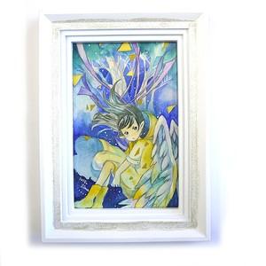 【嶋波誌麻】天使の木/原画