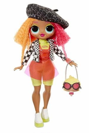 LOL サプライズ O.M.G. ネオンリシャス Neonlicious Fashion Doll with 20 Surprises
