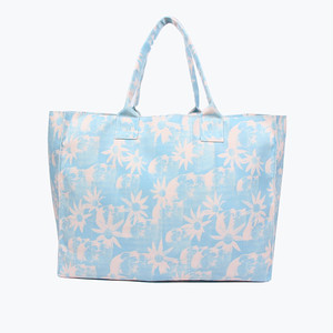 SMALL BEACH BAG (DOUBLE RAINBOUU )