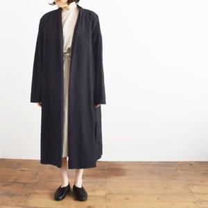 COSMIC WONDER   コズミックワンダー オーガニックコットン羽織りローブ  Beautiful organic cotton Haori robe 11CW06061 Black