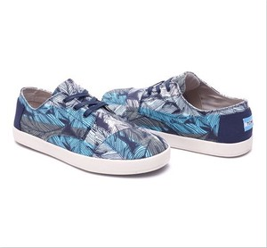 TOMS | BLUE STRIPED LEAF MEN'S PASEOS