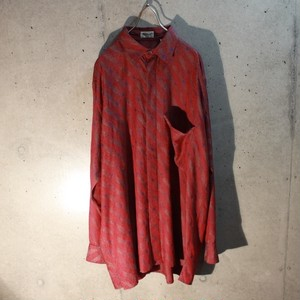 Long sleeve design rayon shirt