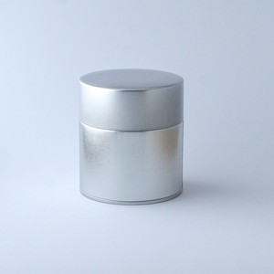 するする閉まる二重蓋の茶筒(Tea Canister)