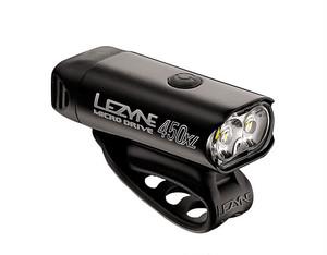 LEZYNE レザイン MICRO DRIVE 450XL [450LUMEN USB LED LIGHTS] BLACK