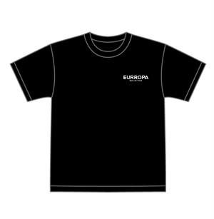EURROPA LOGO T-SHIRT(Black)