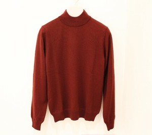 MICHELACCI DANILO Mock Neck Knit Bordeaux