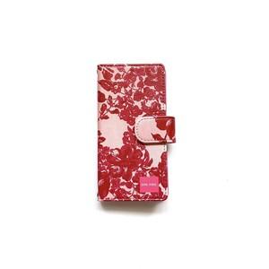 北欧デザイン iPhone手帳型ケース  | stella pink