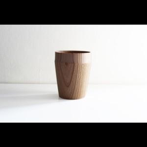 """木肌の風合いを活かした手に馴染むスタイリッシュな器 木工アーティスト【FUQUGI/フクギ】""""TROLL"""" Drink Cup ドリンクカップ (Natural)"""
