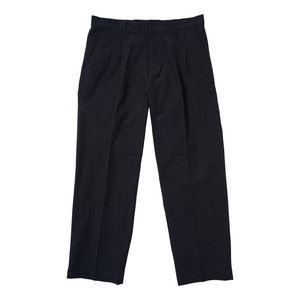 PLEATED WORK PANT(NAVY)[TH8A-081]