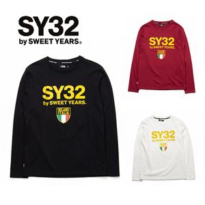 SY32 ゴールドエンブレム長袖Tシャツ