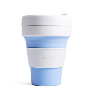 再入荷! stojo(ストージョ) POCKET CUP 12oz/355ml 折り畳みマイカップ/マイタンブラー