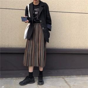 【ボトムス】韓国風人気新作insファッション合わせやすいAラインスカート