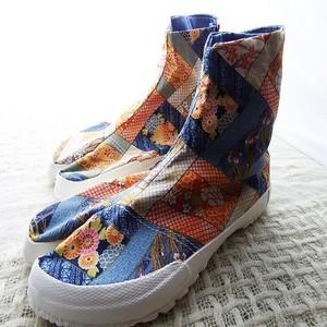 レディースファッション地下足袋 和柄足袋 #8