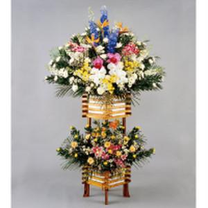 葬儀用スタンド花-04