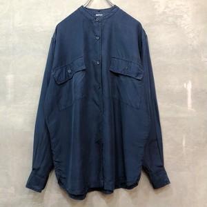 Euro Vintage Silk shirt #2417