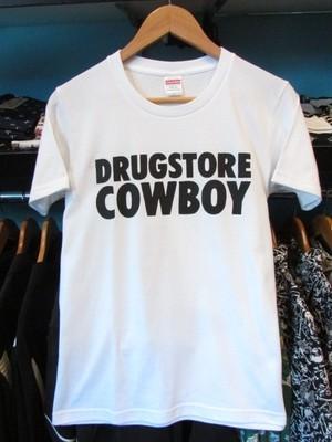 S/STシャツ DRUGSTORE COWBOY ホワイト