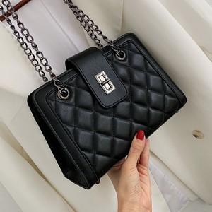 【小物】絶対欲しいファッション配色差込錠ショルダーバッグ22815013