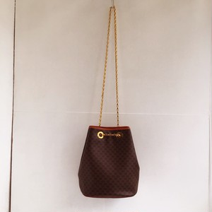 CELINE  macadam kinchaku 2way chain shoulder bag